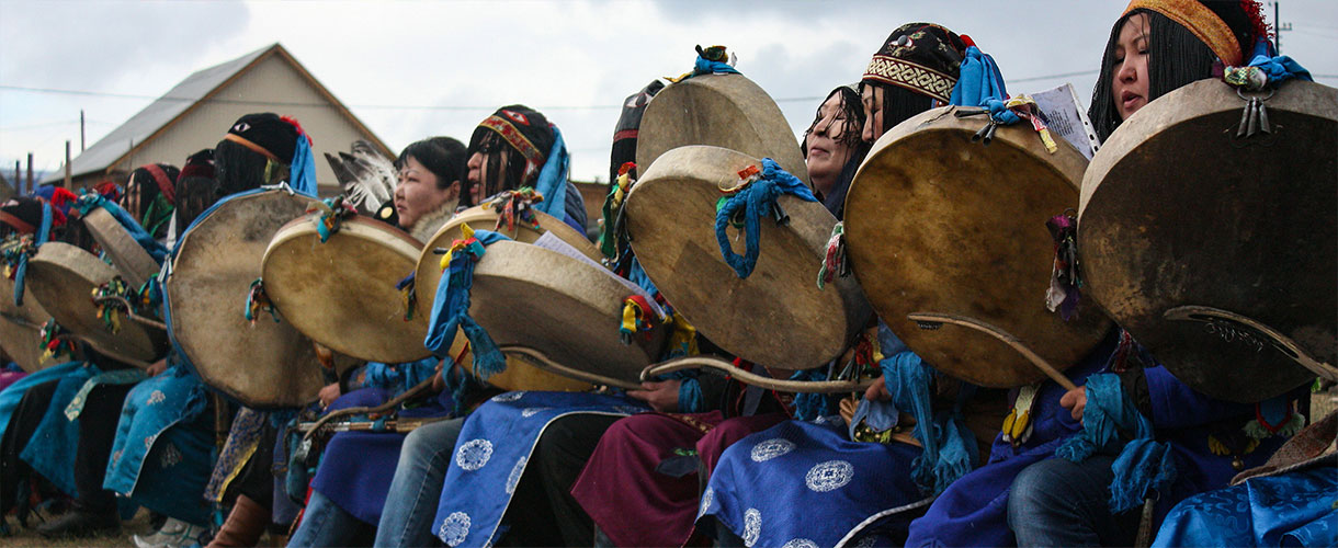 Kamłanie - Ułan Ude, Buriacja. fot. © Agnieszka Kaniewska, Barents.pl