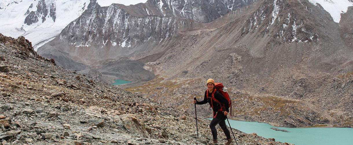 Relacja z trekkingu w Kirgistanie fot. © Ola i Piter, Barents.pl