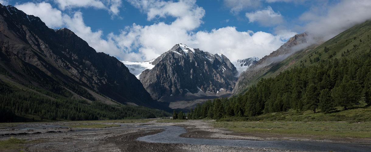 Trekking w najładniejszych górach Syberii fot. © Roman Stanek, Barents.pl