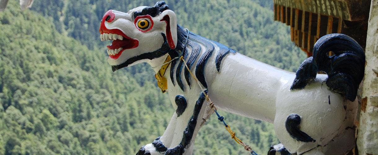 Rowerem przez Himalaje: Bhutan. fot. @ Marie-O'Malley