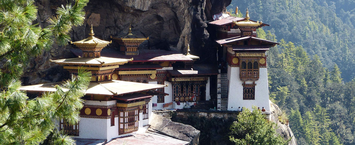 Tygrysie gniazdo. Rowerem przez Himalaje: Bhutan. fot. @ Peter Anta