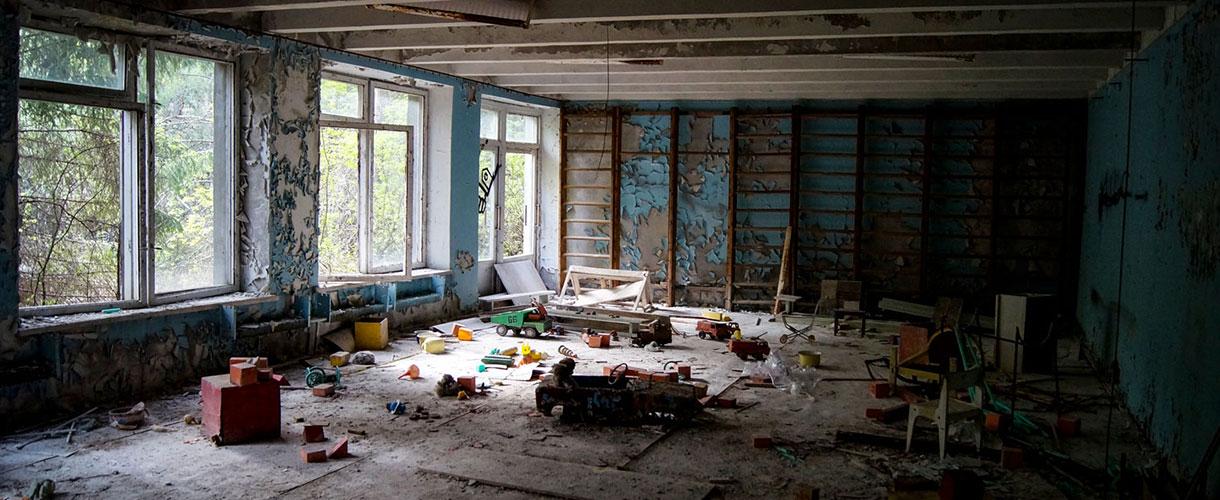 Wycieczka do Czarnobyla i zwiedzanie Kijowa. Fakultatywny Lwów i trekking na Zakarpaciu. fot. Paweł Gardziej, © Barents.pl