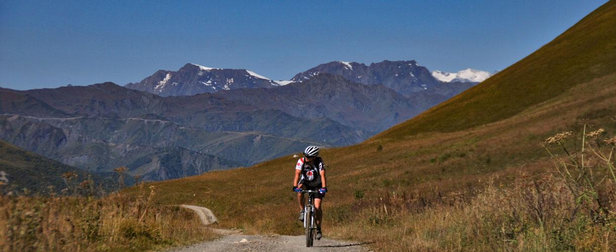 Cycling Georgia: Svaneti, the heartland of Caucasus photo © Roman Stanek, Barents.pl