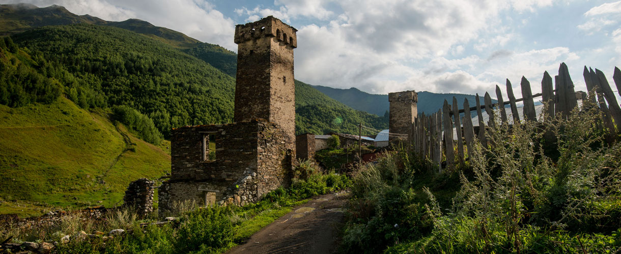 Cycling Georgia: Svaneti, the heartland of Caucasus photo © Henryk Jeleń with Barents.pl