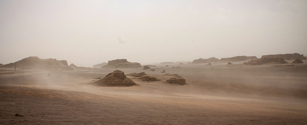Niczym nieograniczona przestrzeń pustyni. Majówka w Iranie fot. © Bartek Krzysztan, Barents 2017