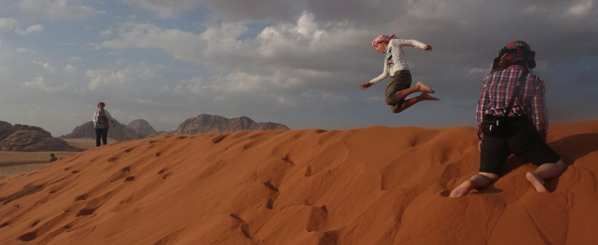 Wyprawa do Jordanii dla dzieci i rodziców fot. © Mateusz Kuszela, Barents.pl