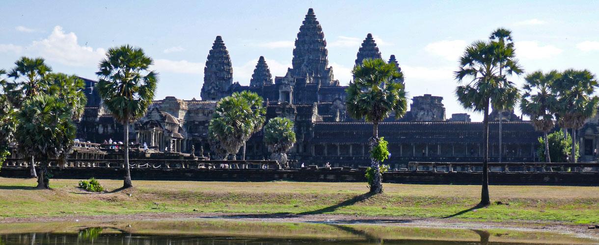Angkor Wat. Sylwester w Kambodży u Khmerów fot. © Asia Ślusarska z Barents.pl