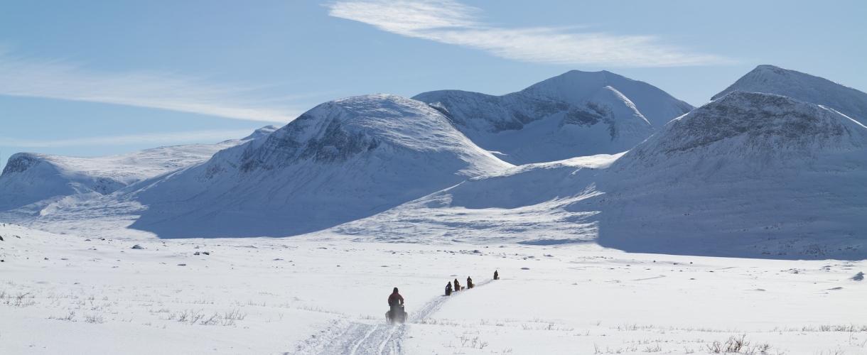 Szwecja: na biegówkach przez doliny Kungsleden fot. © Kira HundeDog