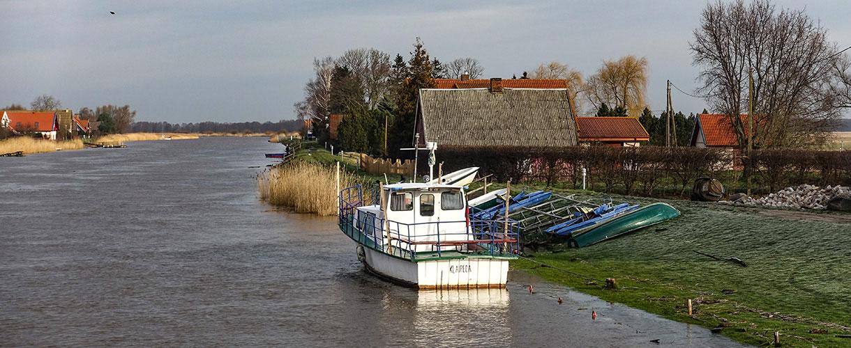 Delta Niemna. Wycieczka na Litwę: wiejskie życie nad Niemnem fot. © Mateusz Kuszela, Barents.pl
