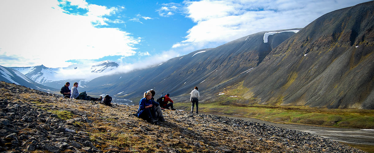 Wyprawa na Spitsbergen: trekkingi na lekko bez namiotu fot. © Roman Stanek, Barents.pl