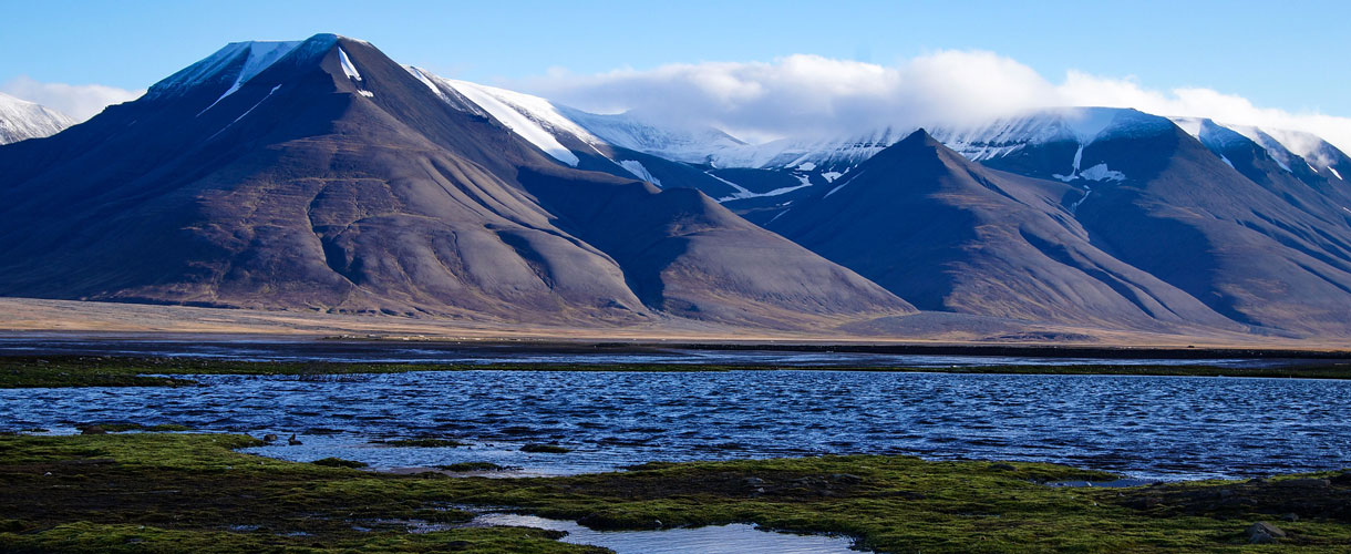 Wyprawa na Spitsbergen: trekkingi wokół Pyramiden za polskimi naukowcami fot. © Małgosia Busz, Barents.pl
