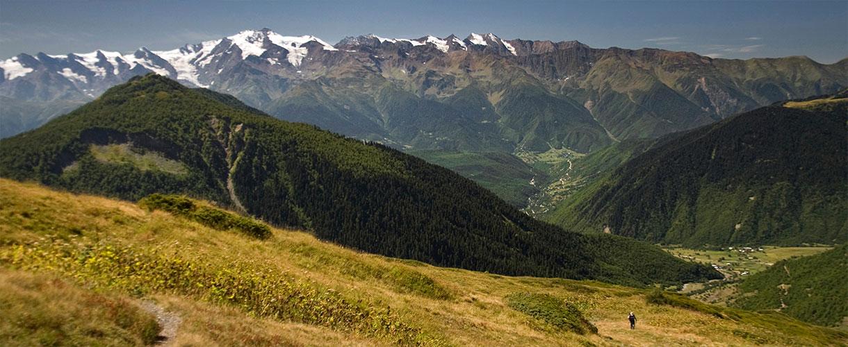 Trekking w Gruzji: na lekko przez Swanetię fot. © Lidka Wiśniewska z Barents.pl