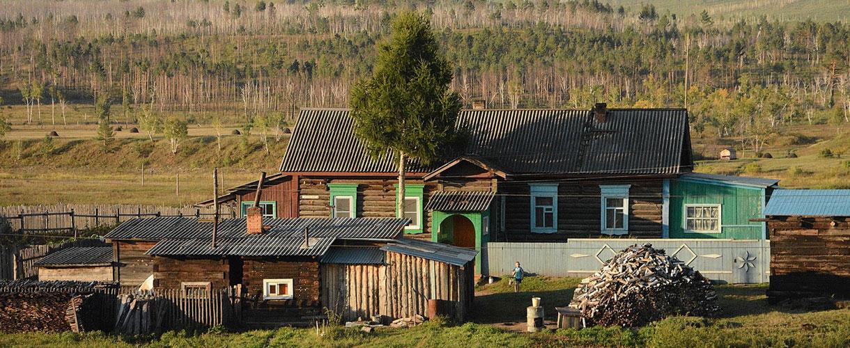 Osada w tajdze. Wycieczka Koleją Transsyberyjską © Ivo Dokoupil dla Barents.pl
