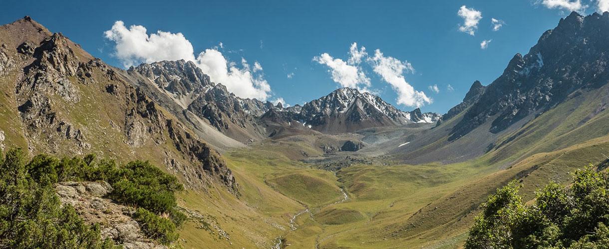 Tien-szan, Góry Niebiańskie w Kirgistanie. Fot. © Magda Załoga z Barents.pl