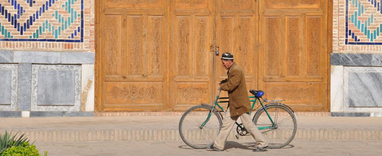 Uzbekistan: rowerem po Jedwabnym Szlaku