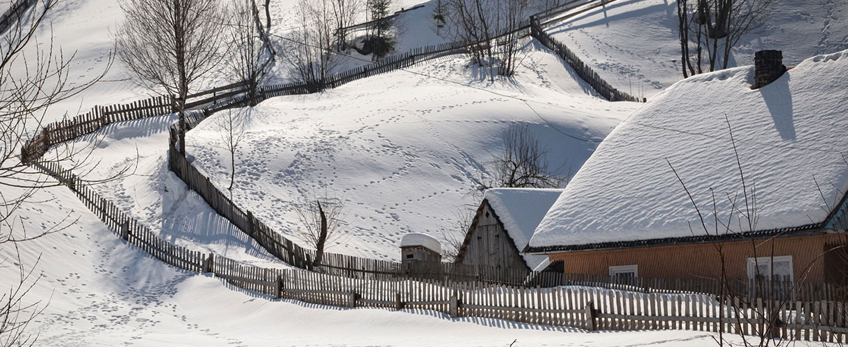 Pożegnanie zimy na ukraińskim Zakarpaciu fot. © Ivo Dokoupil, Barents.pl