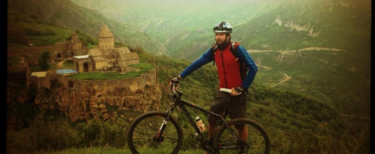 Armenia na rowerze. Wyprawa na Kaukaz. Rowerowe wycieczki.