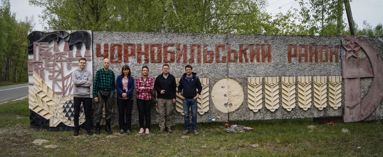 Majówka w Czarnobylu fot. © Paweł Gardziej, Barents 2017