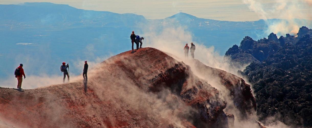 Wycieczka na Kamczatkę - wulkan Tolbaczik  Ⓒ Irina Dalecka dla Barents.pl