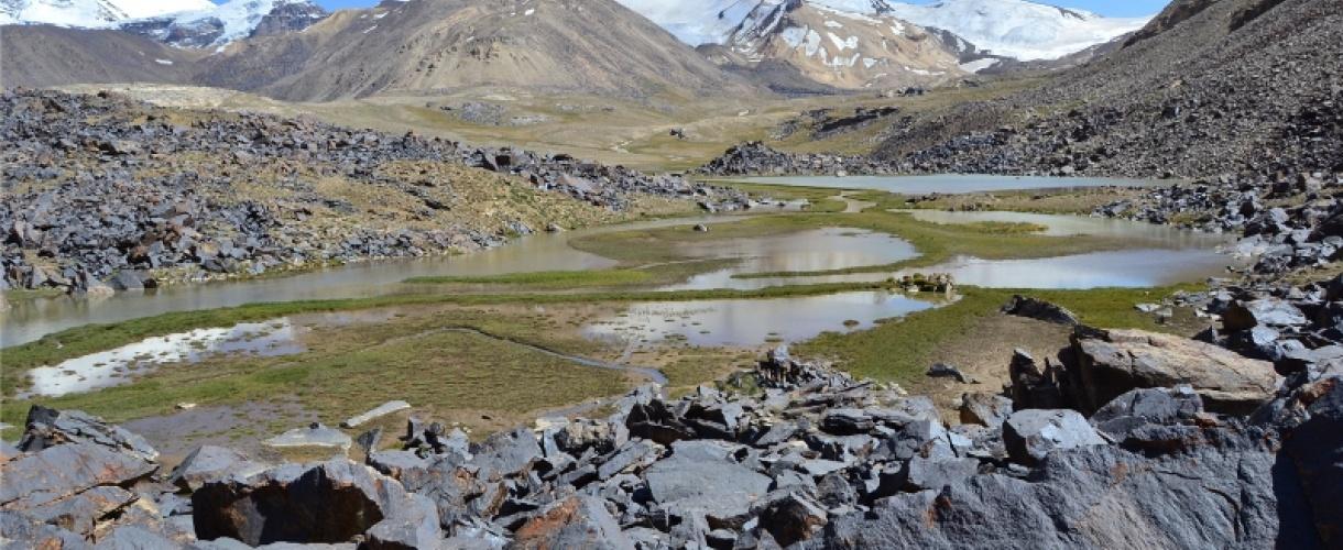 Trekking w Pamirze. Wycieczka do Tadżykistanu fot. © Monika Żarnowiecka, Barents.pl