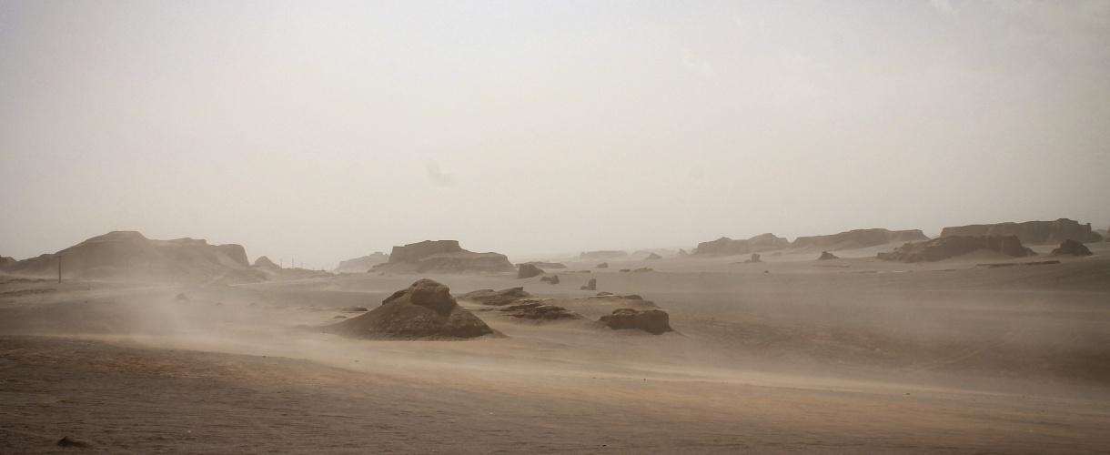 Nieograniczona przestrzeń pustyni. Majówka w Iranie © Bartek Krzysztan, Barents 2017