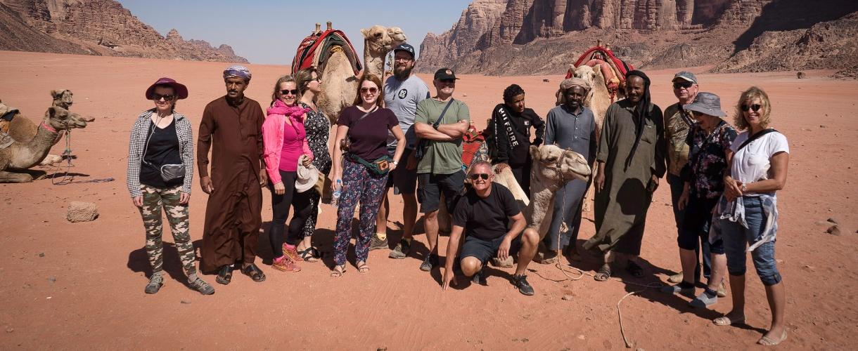 Majówka w Jordanii: Petra i Wadi Rum fot. © Paweł Gardziej, Barents.pl