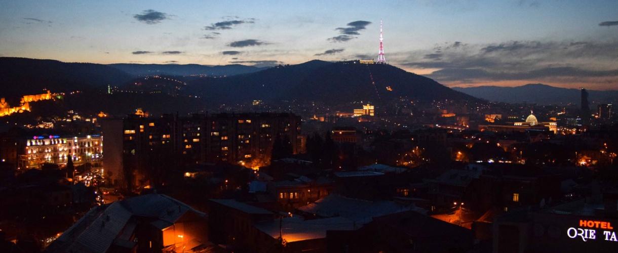 Nocne Tbilisi