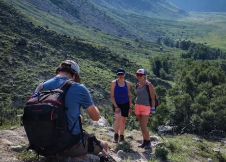 Trekking w najładniejszych górach Syberii fot. @ Zosia i Mietek z Barents.pl