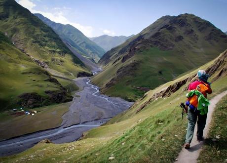 Trekking w Tuszetii i Chewsuretii © Roman Stanek, Barents.pl