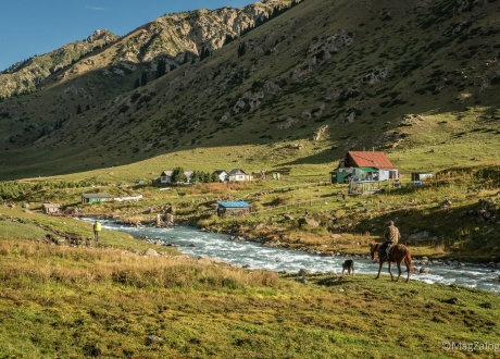 Kyrgyzstan: trekking the Mountains of Heaven © Magda Załoga with Barents.pl