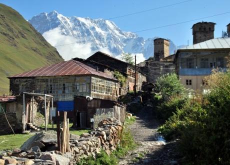 Wioski Wysokiego Kaukazu fot. © Barents.pl