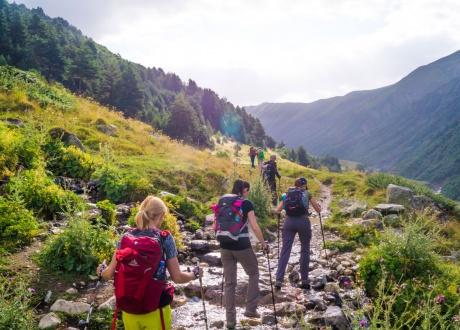Trekking w Gruzji: na lekko przez Swanetię, sierpień 2017 fot. © Paweł Gardziej Barents.pl