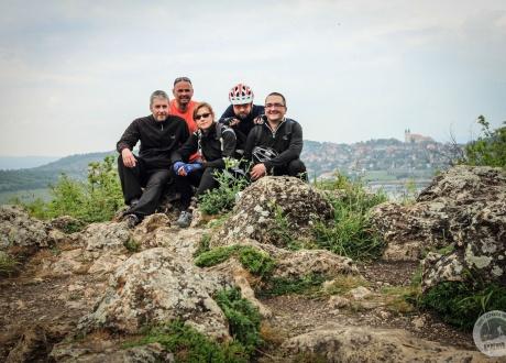Rowerem nad Balatonem. Kwiecień 2014 fot. © Mariusz Niemiec, Barents.pl