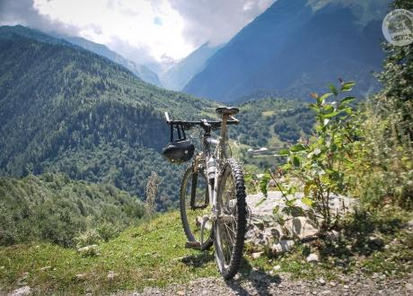 Swanetia na rowerze fot. © Roman Stanek, Barents.pl