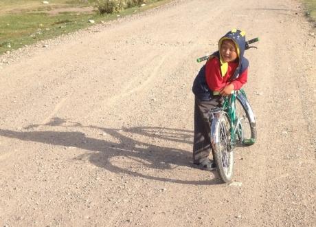 Rowerem przez Tien Szan - Góry Niebiańskie w Kirgistanie fot. © Barents.pl