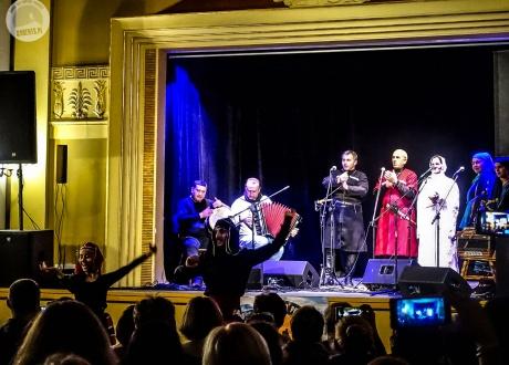 Pankisi Ensamble na trasie koncertowej w Polsce w 2018 r. na zaproszenie Barents.pl | fot. © Paweł Gardziej