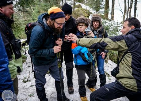 Wspieramy organizacje ekologiczne zajmujące się ochroną drapieżników | Wycieczka: Śladami rysia i wilka w Beskidzie Czesko-Słowackim | fot. © Paweł Gardziej