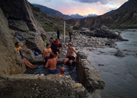 Gorące źródła w Kiegistanie fot. © Małgosia Busz, Barents.pl