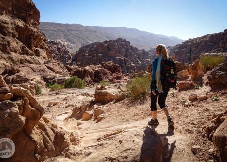 Wycieczka do Jordanii: Petra, Amman, pustynia Wadi Rum i trekkingi fot. © Roman Stanek, Barents.pl