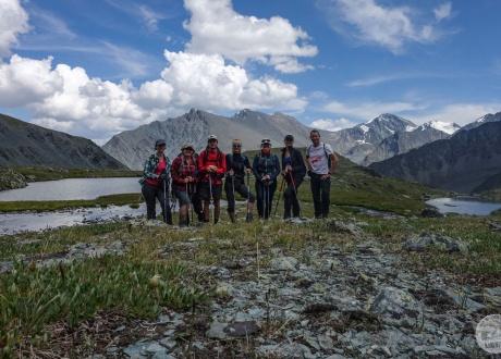 Altajus: žygiai po gražiausius Sibiro kalnus © Mateusz Kuszela, Barents.pl