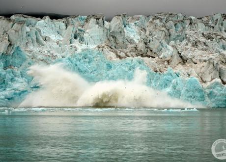 Tam, gdzie lodowce wpadają do morza. Tydzień na Krańcu Północy 08.2016 r. © Łukasz Kaczorowski z Barents.pl