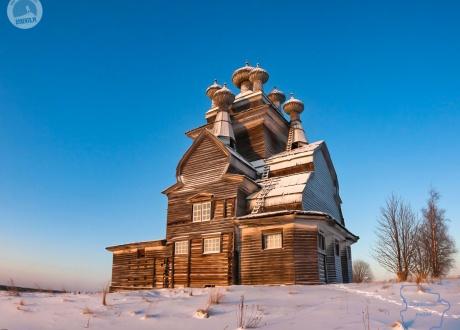 Zimowa Karelia fot. © lokalny partner dla Barents.pl
