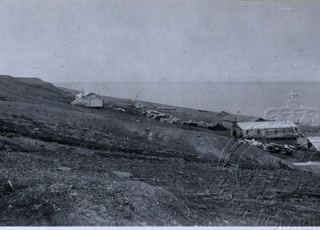 Zdjęcie z 1921 r. Osada Calypsobyen fot. © Norsk Polarinstitutt