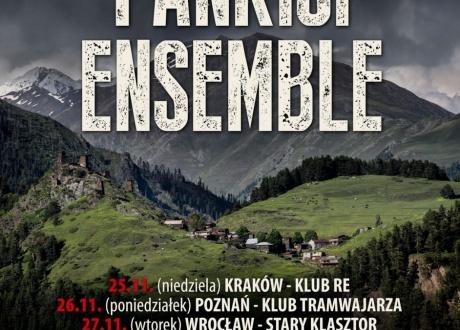 Pankisi Ensamble na trasie koncertowej w Polsce w 2018 r. na zaproszenie Barents.pl