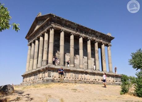 Świątynia w Garni – jedyny na terytorium Armenii zachowany budynek klasyczny. Gruzja i Armenia: to co najlepsze z Kaukazu. © Klemens, Barents.pl 2017