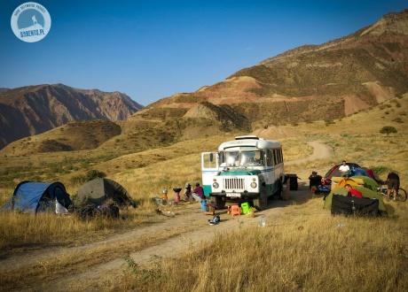 Trekking w Pamirze. Wycieczka do Tadżykistanu. © Roman Stanek, Barents.pl