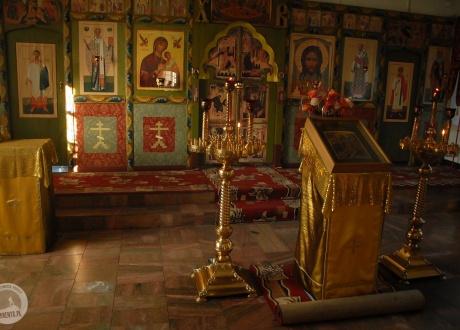 Wnętrze cerkwi. Wyprawa nad Bajkał © fot. Ivo Dokoupił dla Barents.pl