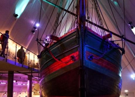 Muzeum Ekspedycji Polarnych FRAM (Oslo) fot. © Małgosia Busz, Barents.pl