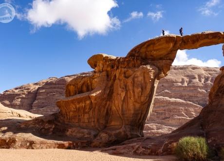 Jordania: Trekking z wielbłądami przez pustynię Wadi Rum fot. © Roman Stanek, Barents.pl