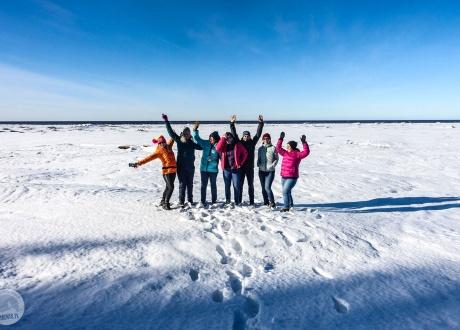 Wycieczka Karelia: Wyprawa na biegówkach po nieznanej Rosji fot. © Mateusz Kuszela, Barents.pl
